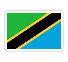 Tanzania Flag Stickers