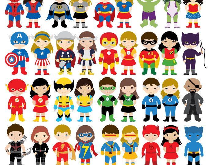 36 chicos superhéroes trajes Imágenes Prediseñadas, imágenes prediseñadas de niños superhéroes superhéroes Imágenes Prediseñadas, imágenes prediseñadas de súper héroe, superhéroe, superhéroes chicas