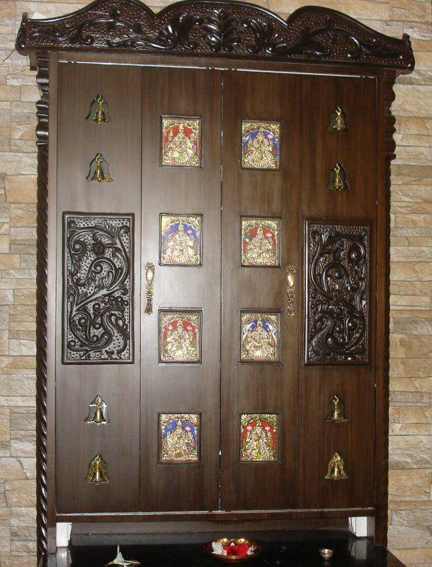 141 Best Pooja Room Images On Pinterest Pooja Rooms