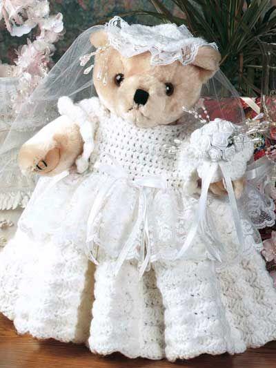Bridal Bear free crochet pattern download