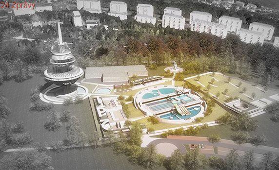 Architekti navrhli v Teplicích zvláštní koupaliště, využívá vodojem