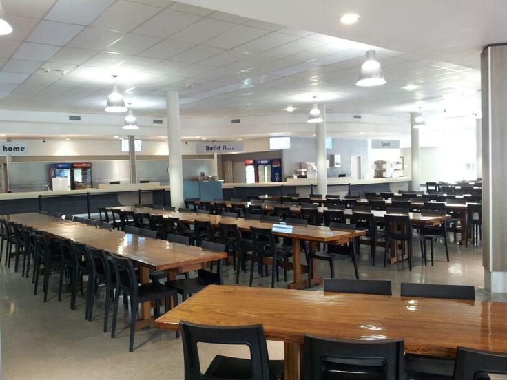 Up dining hall interior