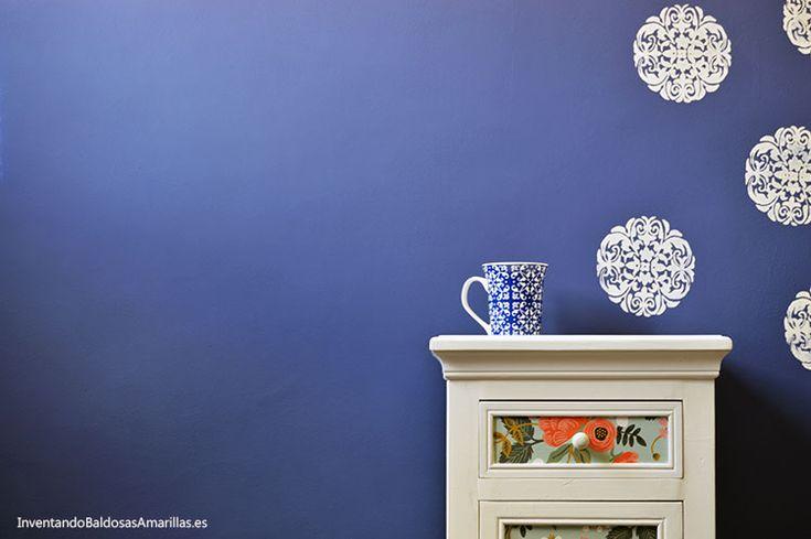 Pintar paredes con chalk paint en casa