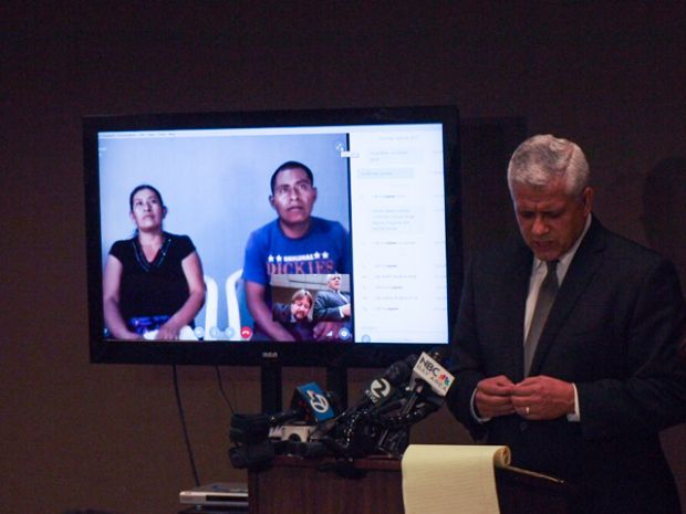 Autopsy shows Amilcar Perez-Lopez was shot from the back.