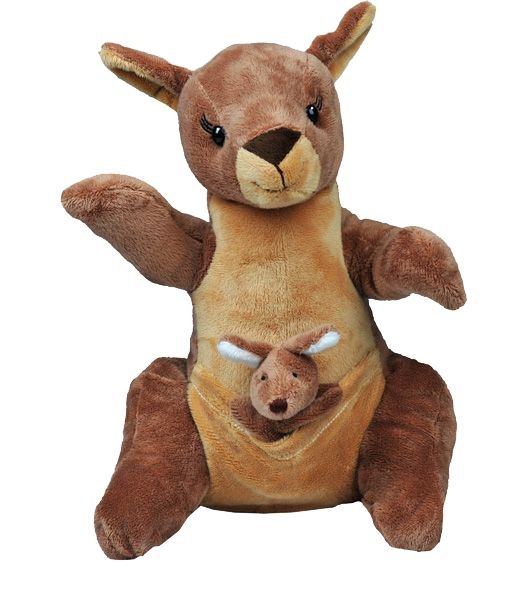 """""""Jill and Joey"""" Kangaroo available in a 16"""" stuff your own teddy bear kit. The coolest   stuff your own teddy bear kits and stuffing parties!"""