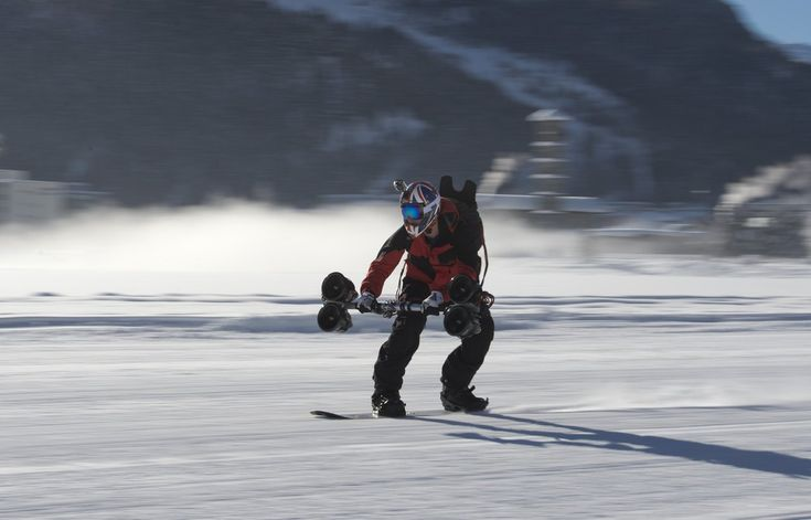Snowboarding with Jet Engines http://vimeo.com/86054588 http://www.dreamscience-propulsion.co.uk/