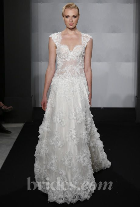 85 best images about bridal mark zunino on pinterest for Kleinfeld wedding dresses with sleeves