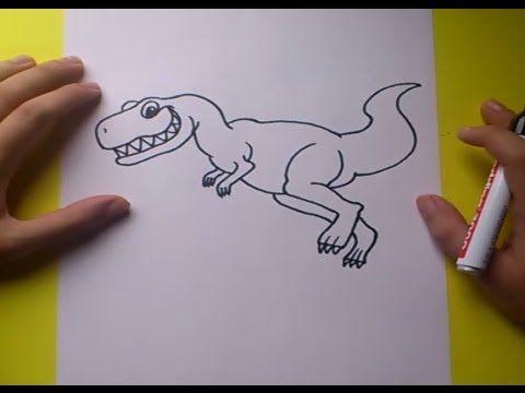 Worksheet. 13 best dinosaures dibuixar fcil pas a pas  dibujar fcil paso