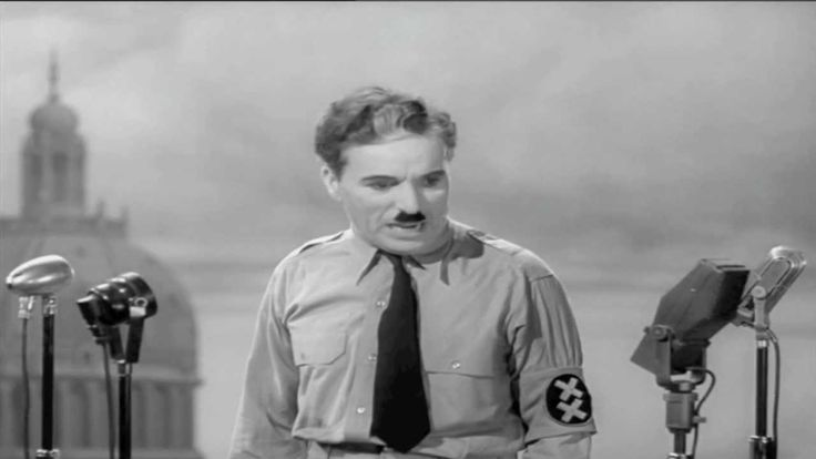 Charlie Chaplin die Rede des großen Diktators 1940