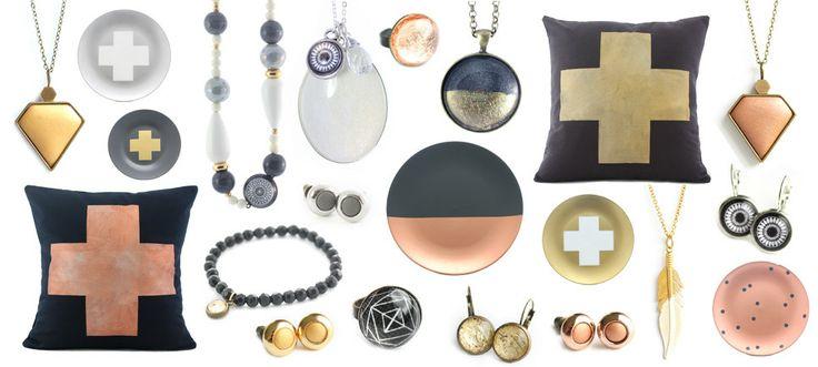 Metallics Collection by Cloud Nine Creative www.cloudninecreative.co.nz