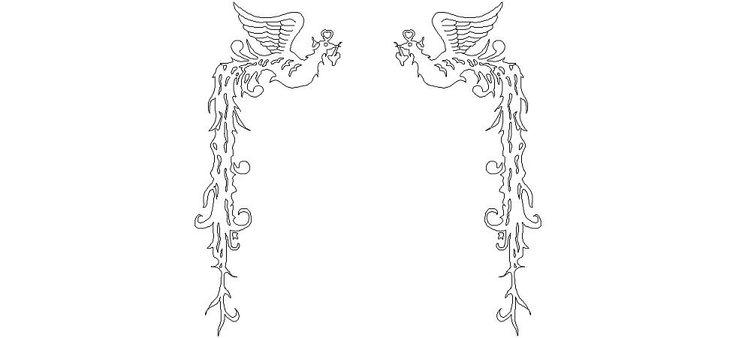 Dwg Adı : Melek kanatlı kuş sembolü  İndirme Linki : http://www.dwgindir.com/puansiz/puansiz-2-boyutlu-dwgler/puansiz-semboller/melek-kanatli-kus-sembolu.html