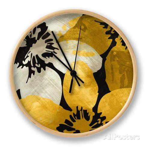 Bloomer Tile IX Horloge par James Burghardt sur AllPosters.fr