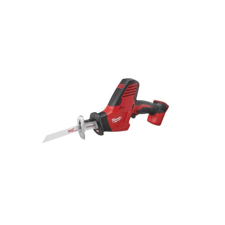 Milwaukee 2625-20 HACKZALL® M18™ Cordless One-Handed Reciprocating Saw with Dual Power Tools Saws Reciprocating Saws