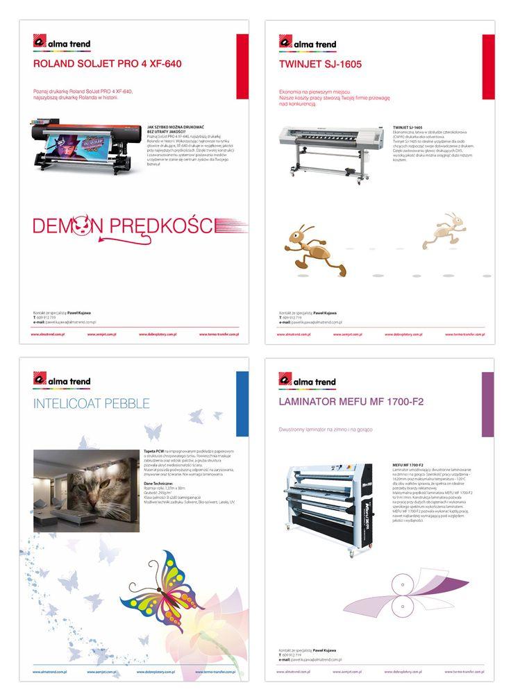 Flyers / Ulotki - linia projektowa
