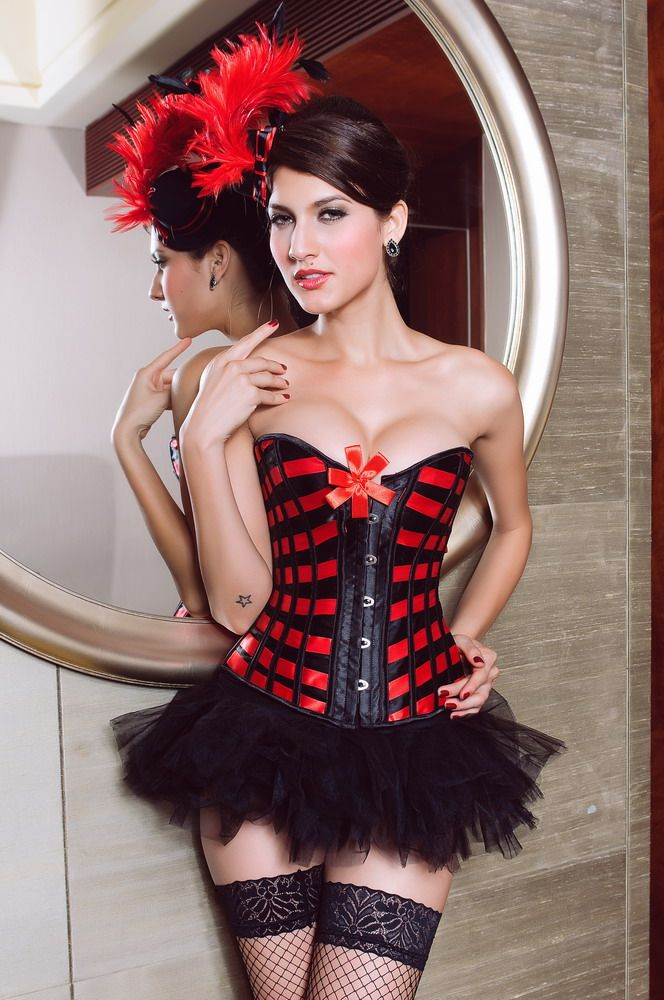 Lattice Ribbon Corset