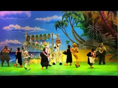 Madagascar Live - The Ending, Birmingham - YouTube