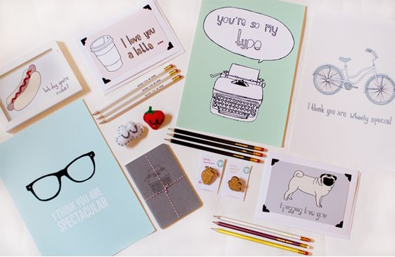 Vivid Please (makers of stationery, prints and accessories) featured blog interview