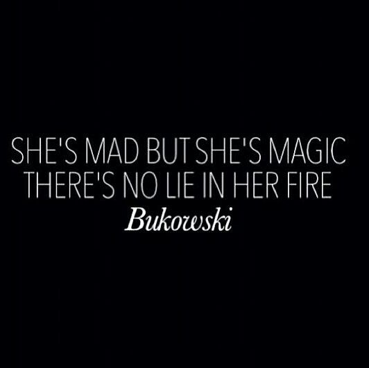 Mad and crazy, but that is magic #quote
