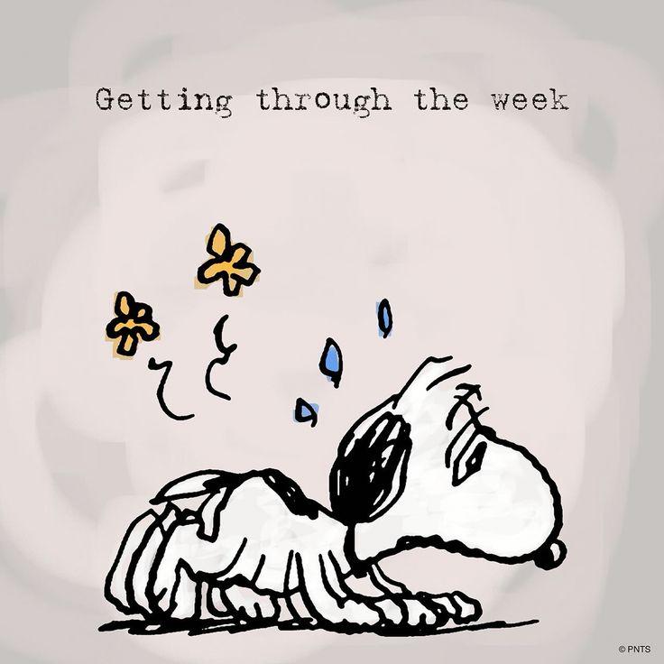 Getting thru the week...
