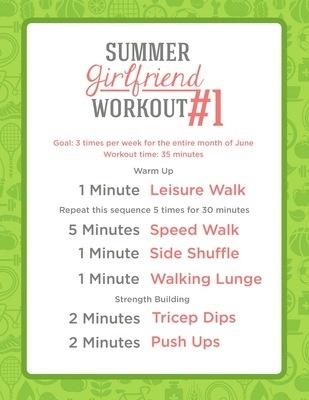 Studio 5 - Studio 5s Summer Walking Program - Summer Girlfriend Workout - 3 times a week