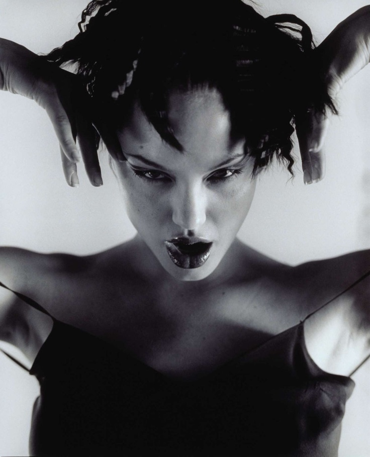 Angelina Jolie  Photoshoots  by Isabel Snyder 1997