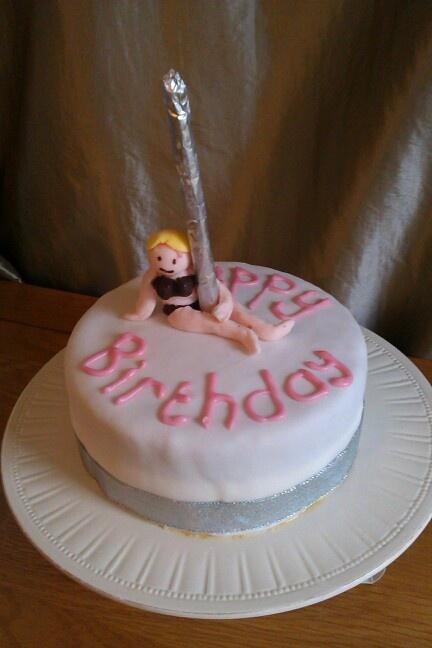 38 best images about Pole dance cakes on Pinterest Pole ...