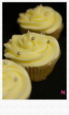 White Ribbon Cupcakes