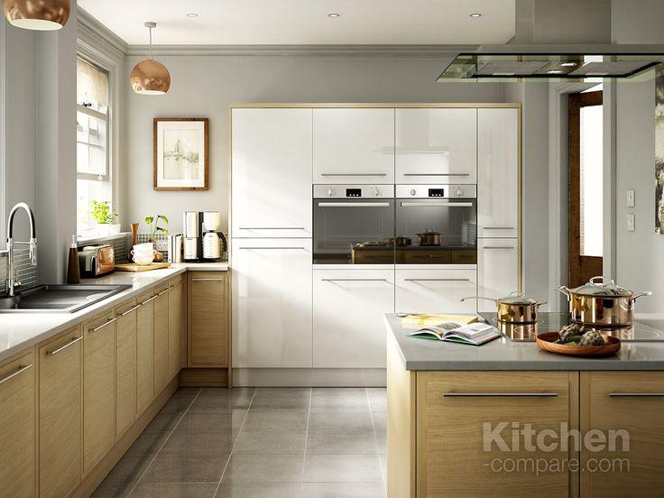 Vintage  best Open Plan Kitchens images on Pinterest Open plan kitchen Kitchen designs and Island kitchen