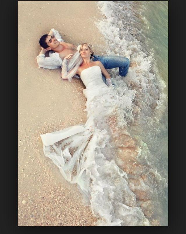 В воде | Свадьба, Морская фотосессия, Свадебные фото