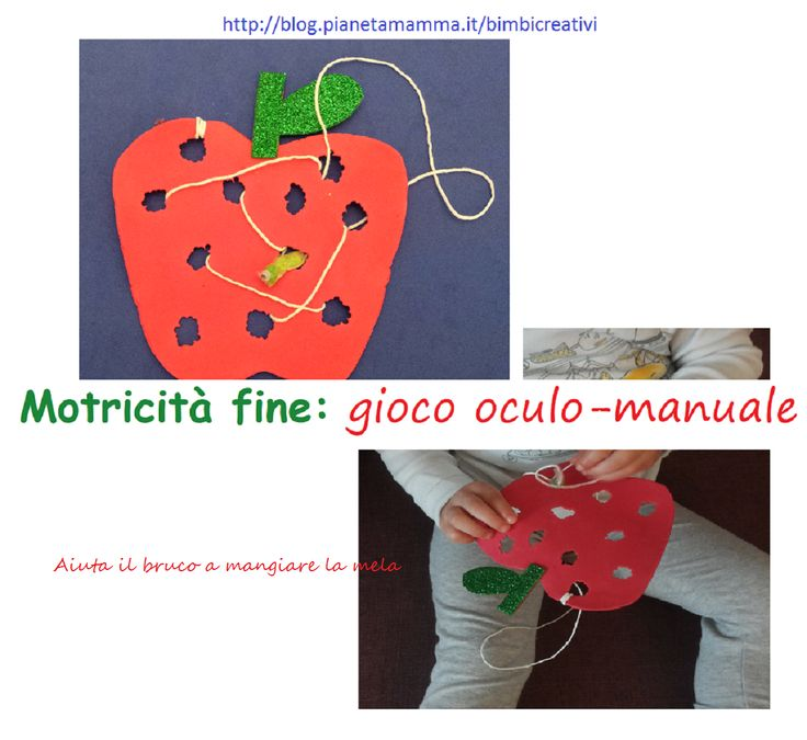 Motricità fine: Gioco Oculo-Manuale n. 3 - Fine Motor Skills Activities n. 3