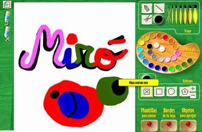 Intenta reproducir las siguientes obras de Joan Miró Cuento infantil de Joan Miró Miró cuento f...