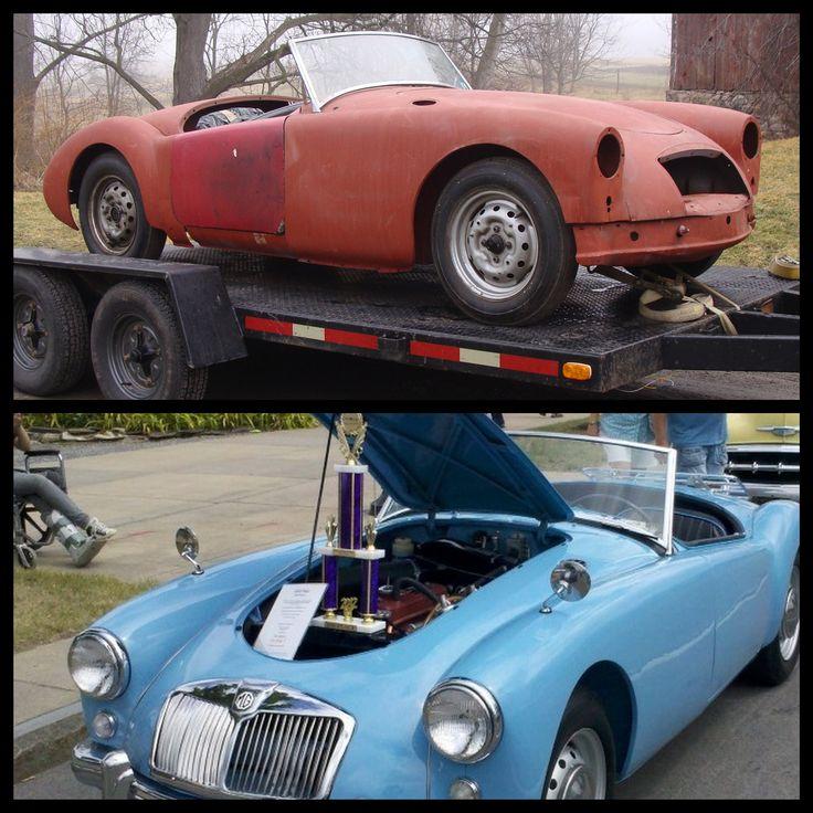 17 best Mga modified images on Pinterest   Vintage cars, Antique ...