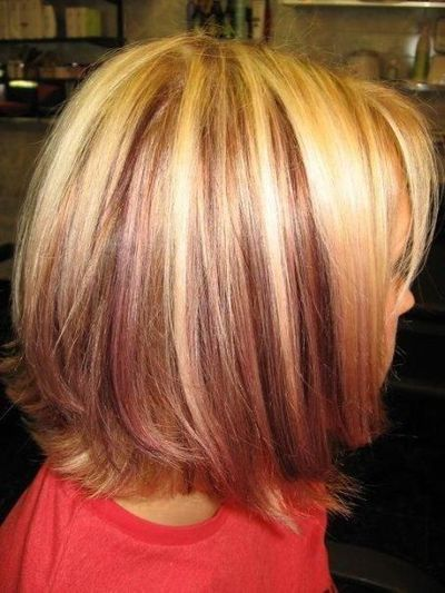 Light Blonde Hair With Lowlightsplatinum Highlights With