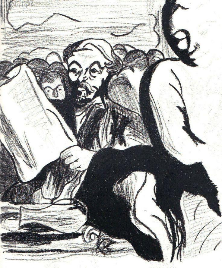 Daumier study http://jennycarsonpaul.blogspot.co.uk