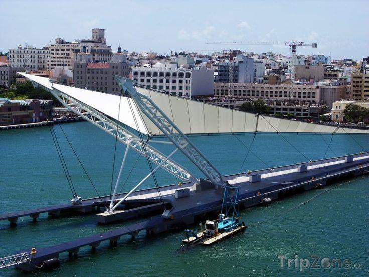 molo ve městě San Juan (Portoriko)