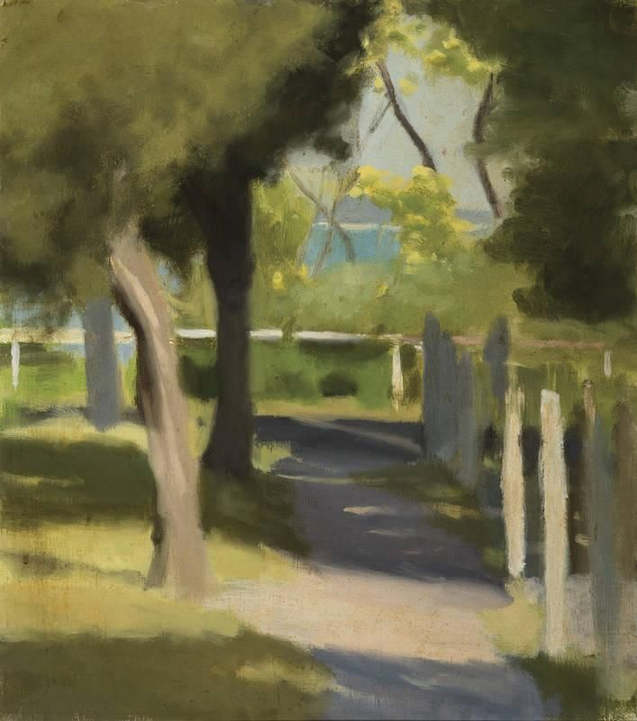 CLARICE MARJORIBANKS BECKETT (1887-1935) Path to the Beach - Current price: $28000
