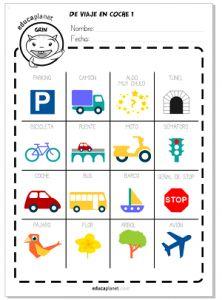 Bingo para carretera                                                                                                                                                     Más