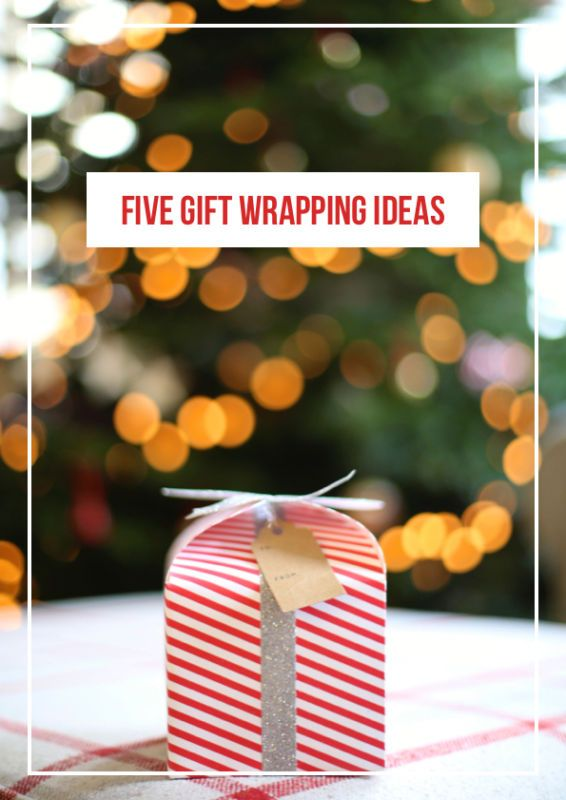 Five Stylish Gift Wrapping Ideas