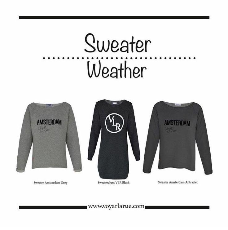 Shop nu de lekkerste sweaters bij Voyar La Rue. www.voyarlarue.com  Bestel je voor 15.30 uur heb je morgen je bestelling in huis