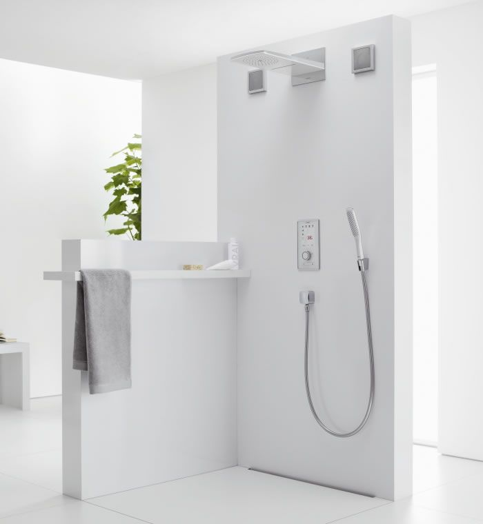 Whether showering, bathing or washing your hands, you will immediately  notice the excellent quality of Hansgrohe Bathrooms, engineered in .