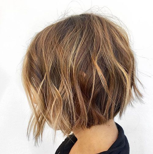 #hairstyles #uneven #size #finest #chin #bob75+ Finest Uneven Bob Hairstyl