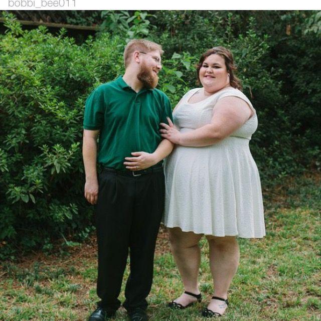 Lollylikesfatshion 105 Plus Fat Bride Groom Meet Bobbi Erik