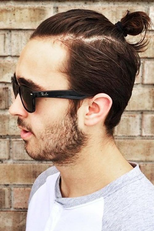 All About Top Knot Hairstyles For Men And 24 Exquisite Ways To Rock Them ★   – Sokka's Wolf Tail Hairstyle