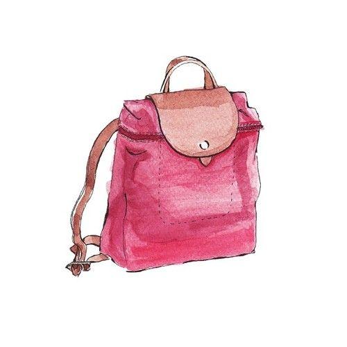 watercolor purse diagram 17 best images about bags illustrations on pinterest ...