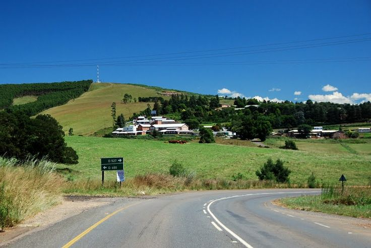 """Ixopo in South Africa  """"There is a lovely road that runs from Ixopo into the hills. These hills are grass-covered and rolling, and they are lovely beyond any singing of it."""""""
