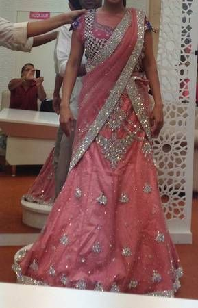 Gorgeous Indian Reception Outfit