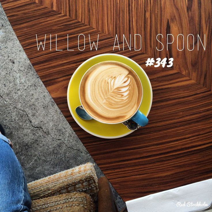Willow and Spoon. Brisbane. 365 coffees. 365 cafes. 365 days.