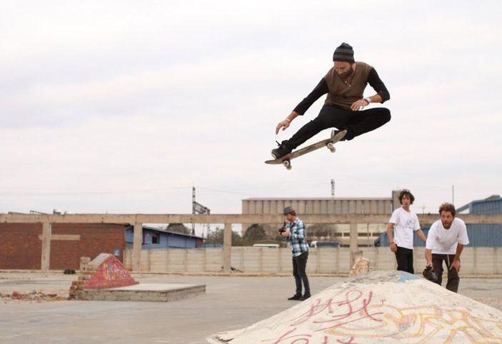 Chris Haslam · Boned Ollie · Film · Skate · Almost · Skate · Trick · Street