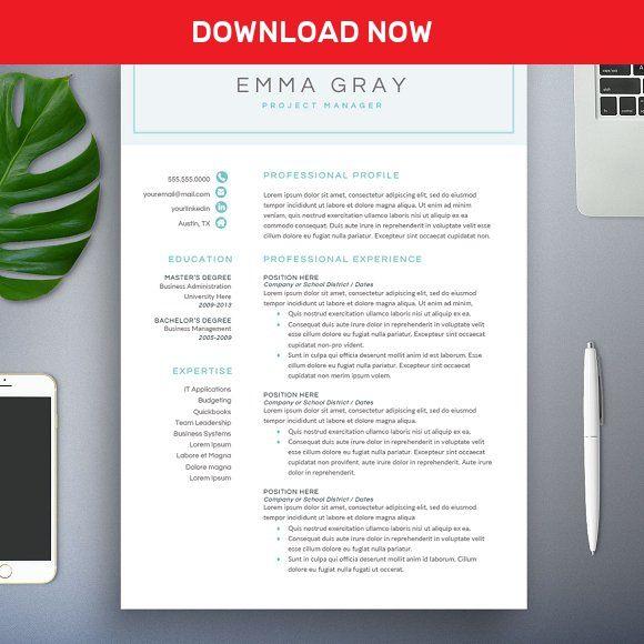 The  Best Modern Resume Template Ideas On   Modern