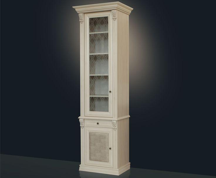Книжный шкаф 1-но створчатый в коридор, купить в интернет магазине, низкие цены в Москве
